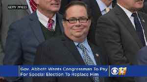 News video: Gov. Abbott Wants Farenthold To Pay For Special Election