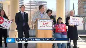 News video: Local democrats speak out against tax policy