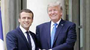News video: Macron Says US Will Rejoin Paris Climate Accord 'One Day'
