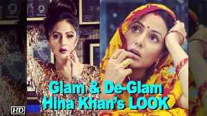 "News video: Glam & De-Glam Hina Khan's LOOK from ""Smartphone"""