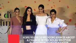 News video: Actor Sonam Kapoor launched the trailer of upcoming 'Veere Di Wedding' along with her co-stars Kareena Kapoor Khan,