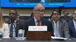 """News video: Lawmaker to Pruitt: """"You really should resign"""""""