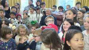 News video: King of the kids Trump says Jackson 'treated very, very unfairly'