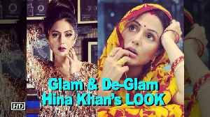 News video: Glam & De-Glam Hina Khan's LOOK from