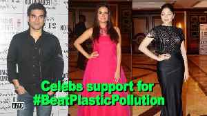 News video: Celebs support for environment | #BeatPlasticPollution