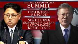 News video: North and South Korea gear up for historic summit