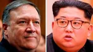 News video: Trump Claims Pompeo Wasn't Originally Supposed To Meet With Kin Jong Un