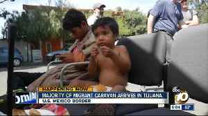 News video: DHS monitoring migrant caravan in Tijuana