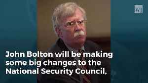News video: John Bolton Informs DC Staffers That He's Cleaning House With High-level Shakeups