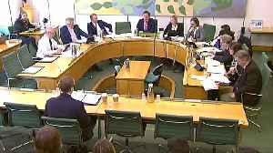 News video: Facebook exec faces grilling by UK lawmakers