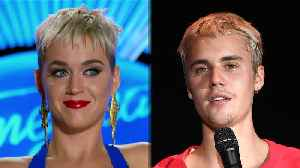 News video: Katy Perry DEFENDS Justin Bieber's Singing Voice On American Idol