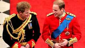 News video: Prince William to Be Prince Harry's Best Man at Royal Wedding to Meghan Markle