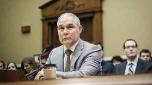 News video: EPA Head Scott Pruitt Will Face 2 House Panels Thursday