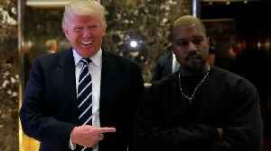 News video: Kanye West's tweets cause controversy, get reaction from Trump