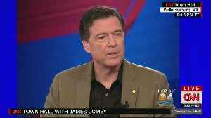 News video: James Comey On Trump's Assertion That Releasing Memos Was Illegal: 'I Think He's Just Making Stuff Up'