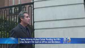 News video: Trump Lawyer Says He'll Plead The Fifth In Porn Actress Case