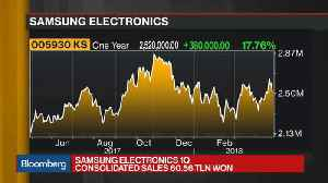 News video: Samsung Hits Record Profit as the Chips Fly