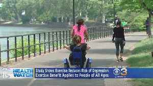 News video: Study Shows Exercise Reduces Risk Of Depression
