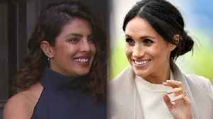 News video: Priyanka Chopra Jokes She Was 'Scammed' Into Talking About Meghan Markle & Prince Harry's Wedding