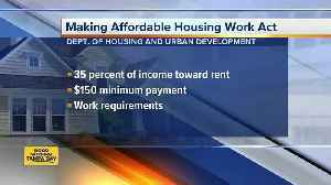 News video: HUD plan would raise rent for millions in public housing