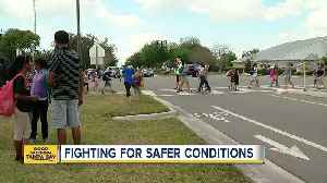 News video: Coleman Middle School students fight to make streets safer with 'Roadwise Awards'