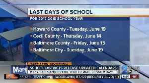 News video: School year extended for thousands of MD students