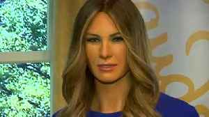 News video: Madame Tussauds in New York unveils new Melania Trump waxwork