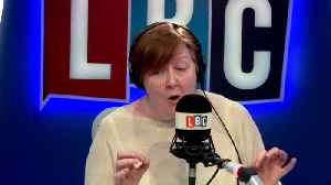 News video: Shelagh Fogarty In Testy Exchange With Caller Over Immigration