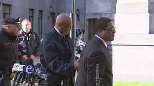 News video: Bill Cosby Arrives For 2nd Day Of Jury Deliberations In Retrial