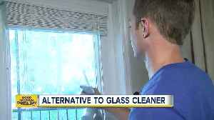 News video: Spring cleaning hacks: Try this alternative to glass cleaner and save some money