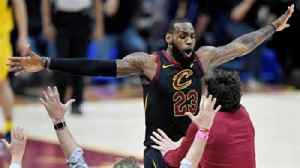 News video: Colin Cowherd reacts after Lebron James hit the game-winning shot against the Pacers last night
