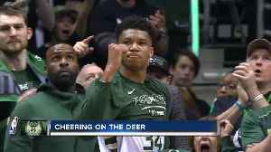 News video: Fans prep to cheer on the Bucks in game six