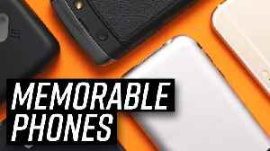 News video: Most Memorable Phones Ever