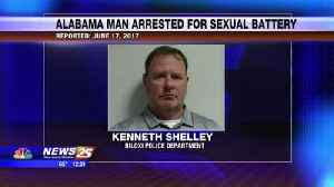 News video: Alabama man arrested for sexual battery