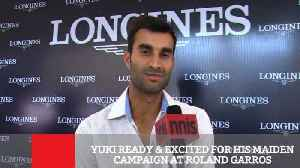 News video: Yuki Ready & Excited For His Maiden Campaign At Roland Garros
