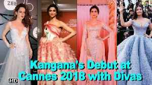 News video: Kangana JOINS Aishwarya, Sonam, & Deepika at Cannes 2018