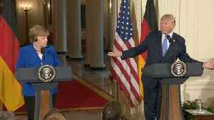 """News video: Trump says wants """"reciprocal"""" trade with Europe"""