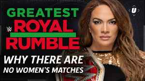 News video: Greatest Royal Rumble: Why There Are No Women's Matches