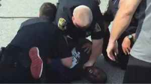 News video: Former NFL Player Claims He Couldn't Breathe During Arrest