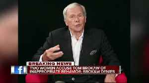 News video: Tom Brokaw accused of sexual harassment by former NBC News, Fox News anchor Linda Vester