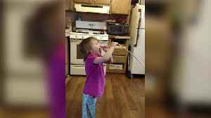 News video: A Young Girl Tastes A Sour Candy