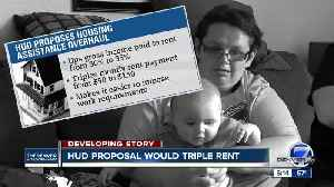 News video: HUD proposal would triple rent