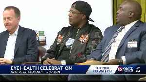 News video: Rapper Master P promotes 'Vision to Learn' in Jackson