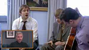 News video: The British 'Office' Star Martin Freeman On Cracking Up On Set: 'Ricky Gervais Was The Worst Of All Of Us'