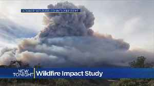 News video: Study Likens California Wildfire Smoke To Volcanic Eruption