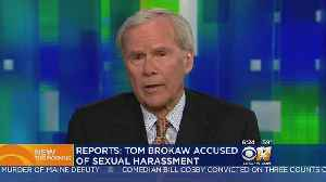 News video: Tom Brokaw Denies Sexual Misconduct Claim By Ex-Reporter
