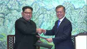 News video: North and South Agree to End Korean War