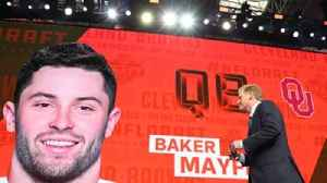 News video: Skip Bayless explains how the Cleveland Browns were 'gutsy' drafting Baker Mayfield with No. 1 overall pick
