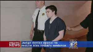 News video: Judge Denies Reduced Sentence Appeal For Man Convicted In Franklin Regional H.S. Stabbings