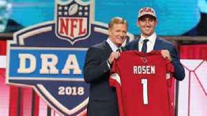 News video: Colin Cowherd reveals why he is impressed by Cardinals trading up to draft Josh Rosen with 10th pick